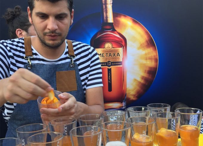 Καλοκαιρινά cocktail με Metaxa image 1