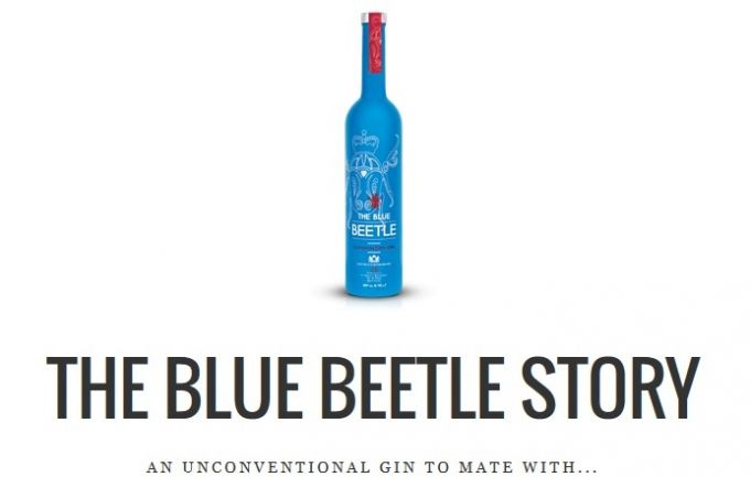 The Blue Beetle Gin: Νέα πρόταση σε London Dry Gin image 1