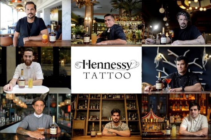 Hennessy Tattoo Project Greece: Tα Cocktail image 1