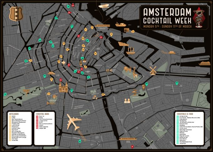 The Ultimate Amsterdam Cocktail Week survival guide image 1