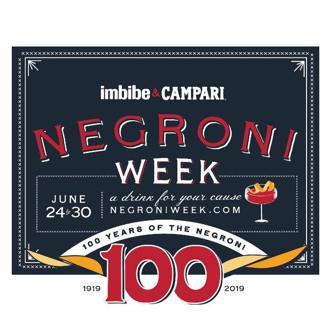 Já estão abertas as inscrições para Negroni Week 2019 image 1