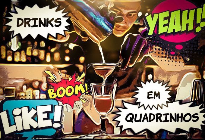 Drinks em quadrinhos image 1
