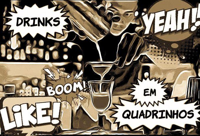 Drinks em Quadrinhos - Cosmopolitan image 1