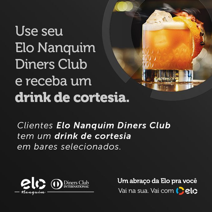 Elo Nanquim Diners Club faz promoção em bares de SP image 1