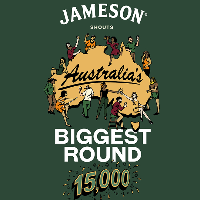 Jameson set to kick off Australia's Biggest Round image