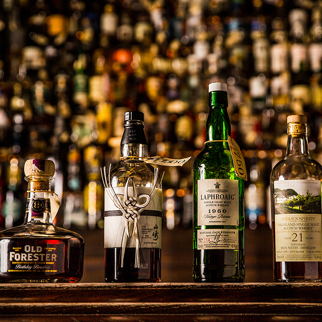 Four Unusual Whiskies You'll Find at The Baxter Inn image