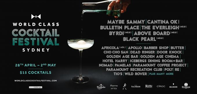 Sydney Hosts World Class Cocktail Festival image 1