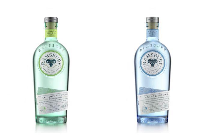 Ramsbury Single Estate Gin και Vodka image 1