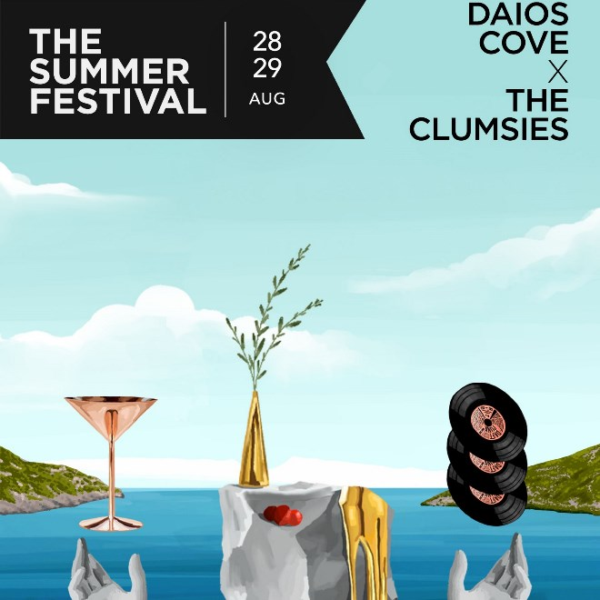 Daios Cove X The Clumsies: The Summer Festival image
