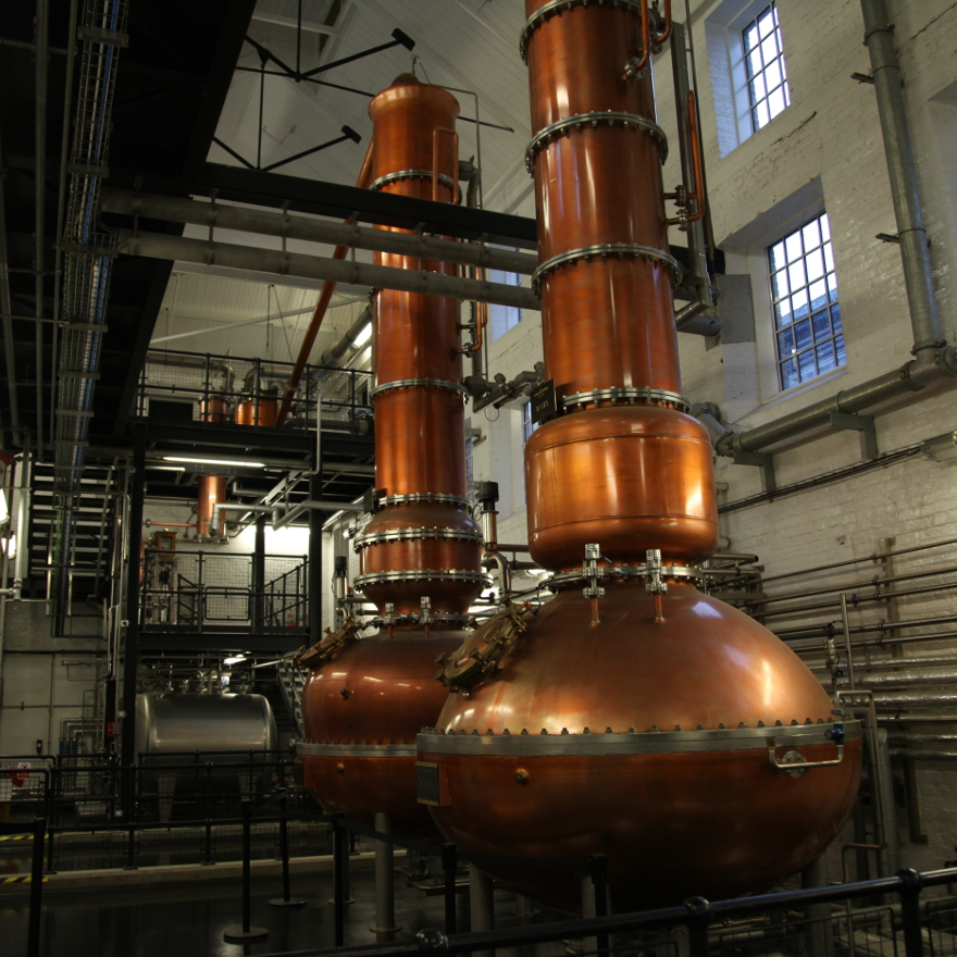 Production of Bombay Sapphire image