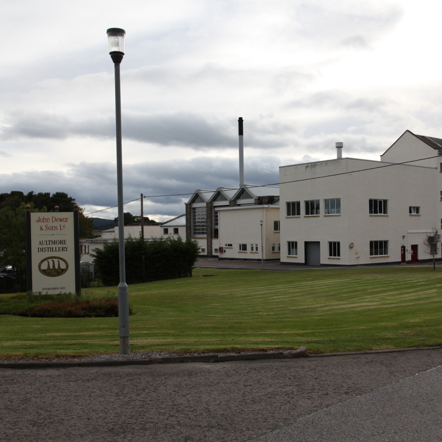 Where is the Aultmore distillery? image
