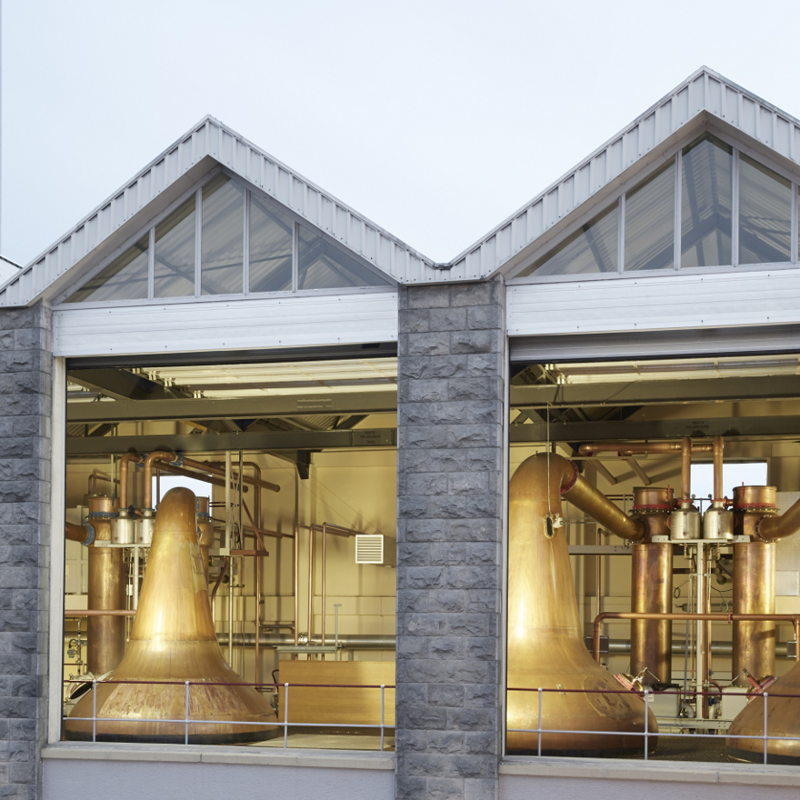 How Aultmore make their whisky image