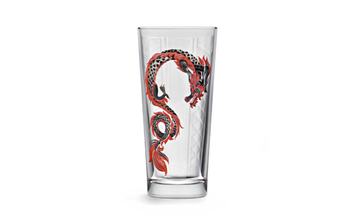 Libbey Silk Road Niho Collins Dragon 360ml image 1