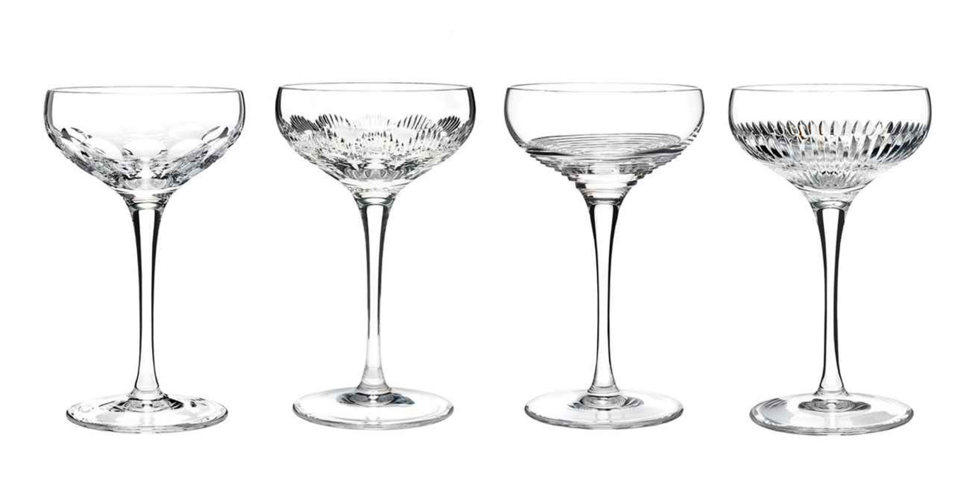 Waterford Mixology Coupe Clear (set of 4) image 1