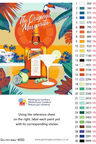 Cointreau paint by numbers kit