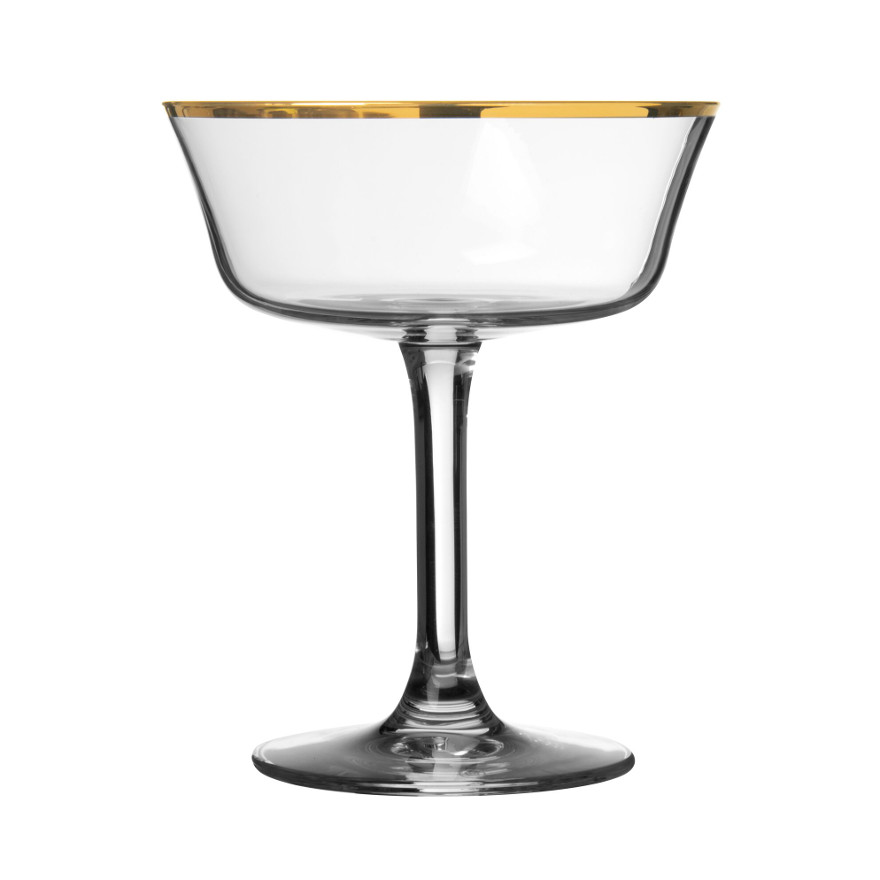 Urban Bar Retro Fizzio Gold Rim 9oz / 26cl image