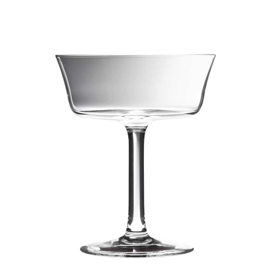 Urban Bar Retro Fizzio Coupe Clear 9oz / 26cl image