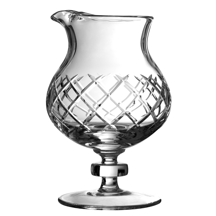 Urban Bar Coley Diamond Cut Mixing Glass 35oz image