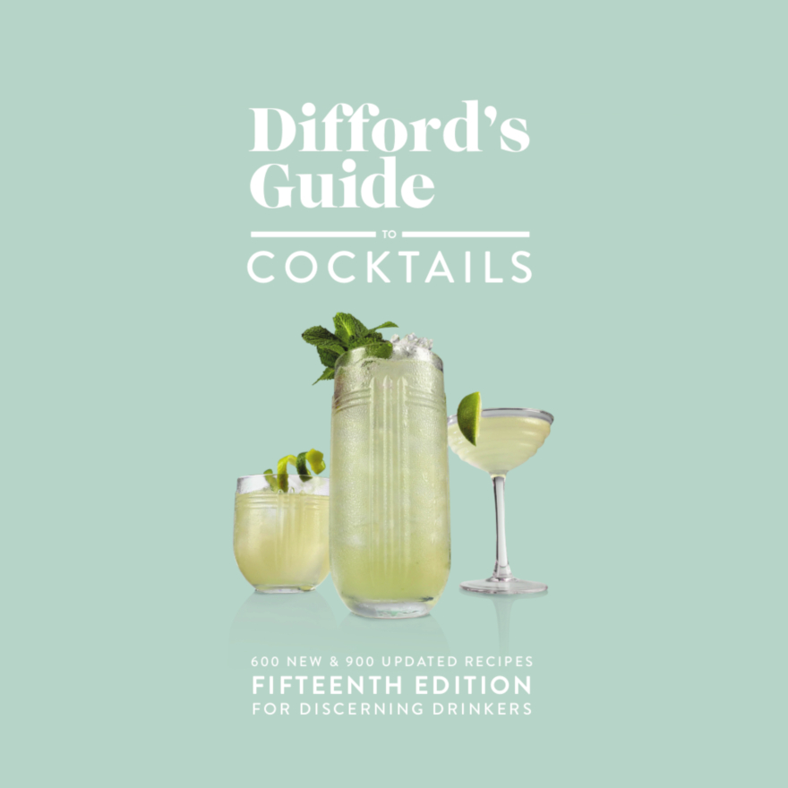 Difford's Guide to Cocktails Fifteenth Edition image