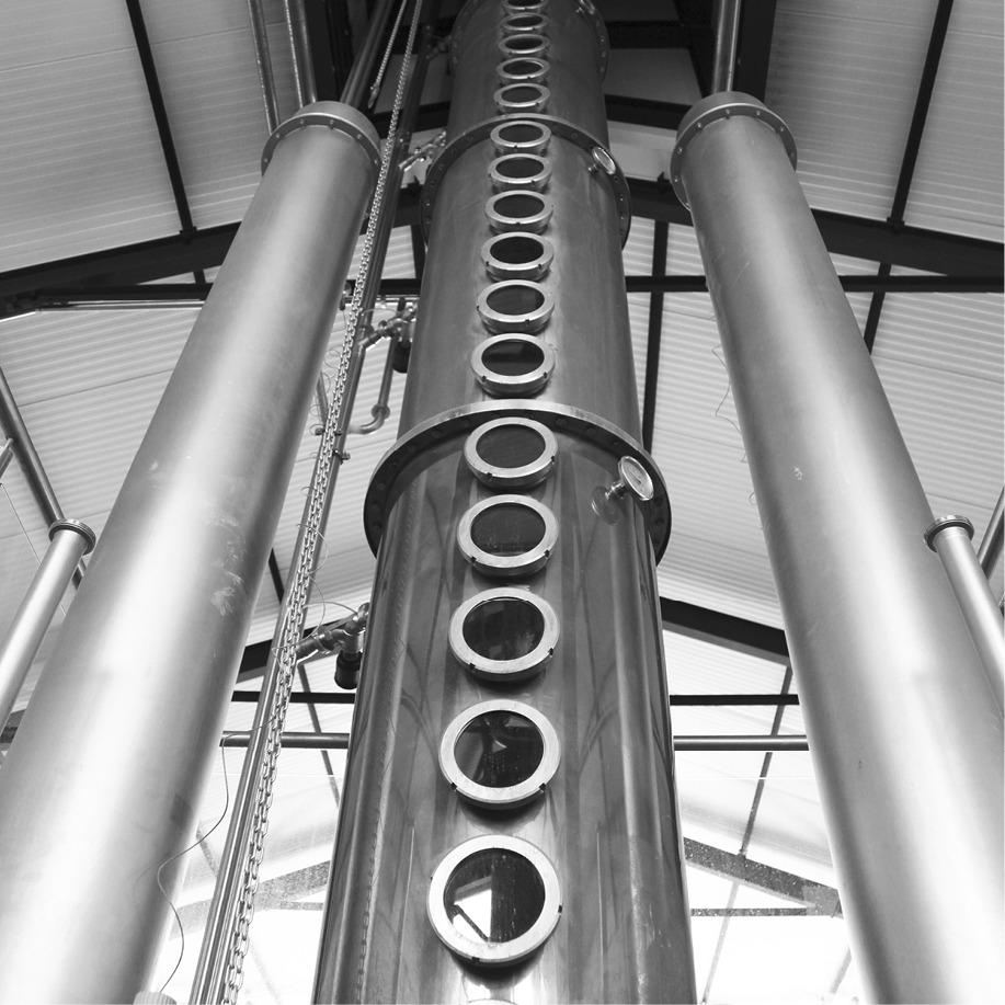 Destilação: diferenças entre alambique e por coluna