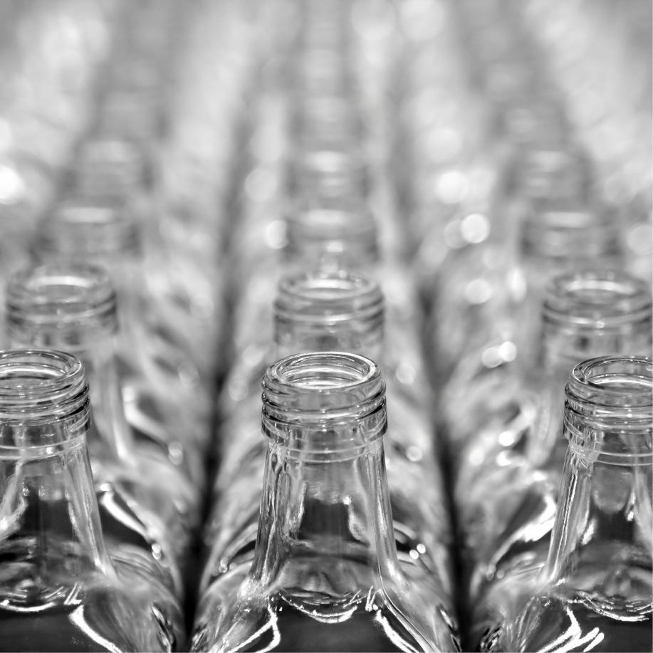 Padrão global de tamanho de garrafas de bebidas