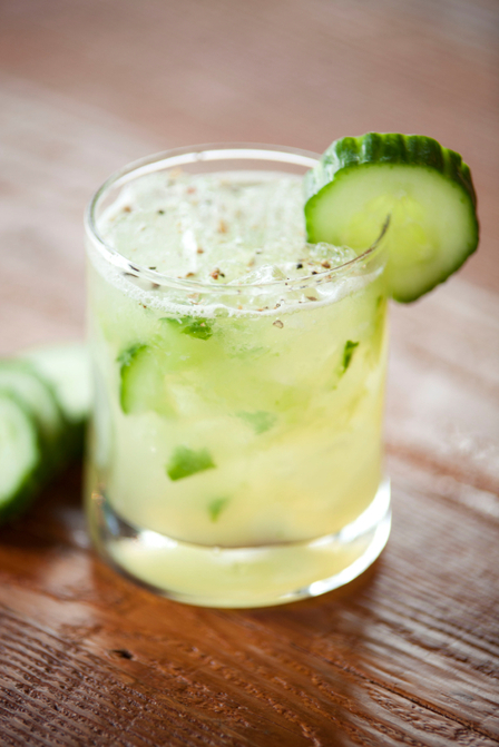 British treats: cucumber cocktails image 1