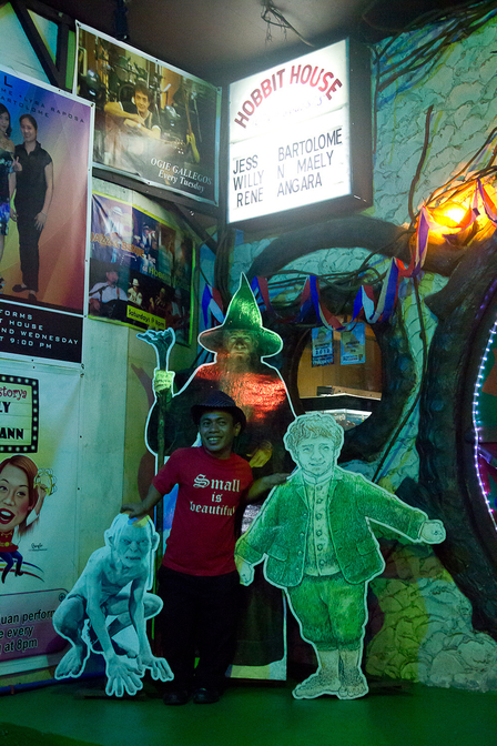 The Most Bizarre Bar? Hobbit House, Manila. image 1