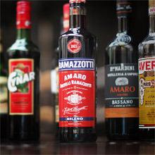 Bitter (amero) liqueurs