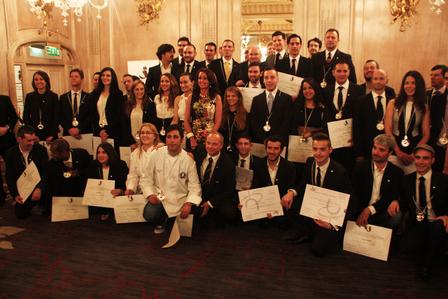UK Sommelier Association's diploma presentation 2014 image 1