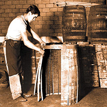 Barrel ageing / cask maturation of spirits image