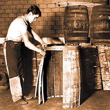 Cask maturation (barrel aging)