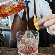 Old Fashioned cocktail image