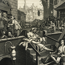 History of gin (1728 - 1794) - London's gin craze image