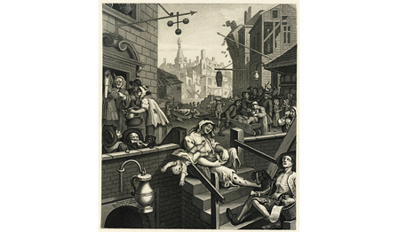 History of gin (1728 - 1794) - London's gin craze image 1