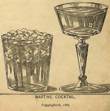 History of gin cocktails image