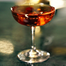 Manhattan cocktail image