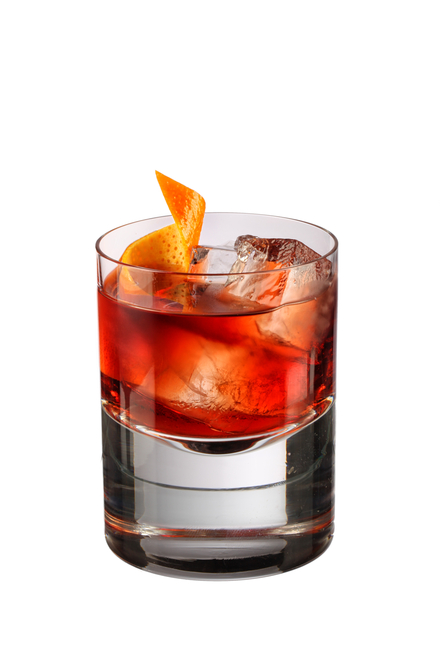 Violet Negroni cocktail image