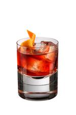 Violet Negroni cocktail