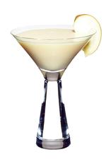 Apple & Custard Cocktail image