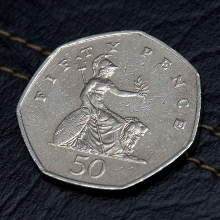 Fifty Pence Piece's birthday image