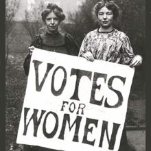 Women voted for first time on this day image