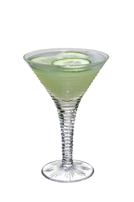 Green Apple & Cucumber Martini image