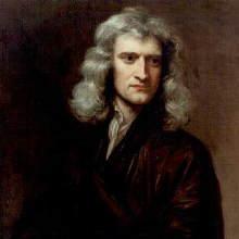 Sir Isaac Newton's birthday image