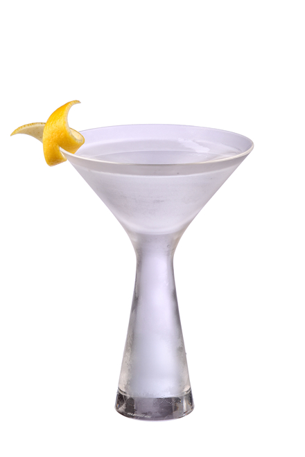 Dry Martini - The 'Naked' or 'Direct' Martini image