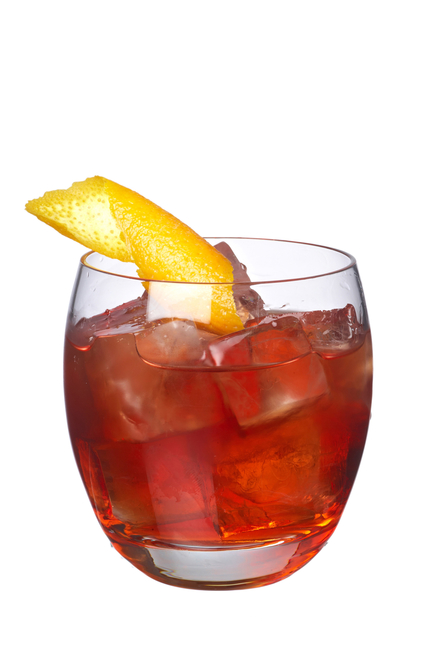 Orange Negroni image