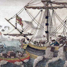 It's the anniversary of The Boston Tea Party image