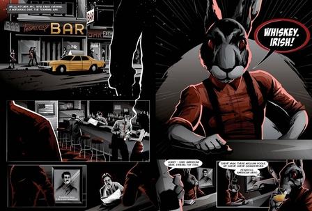 The Dead Rabbit menu volume 4 image 1