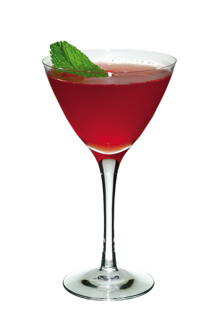 Nutty Berry Cocktail image