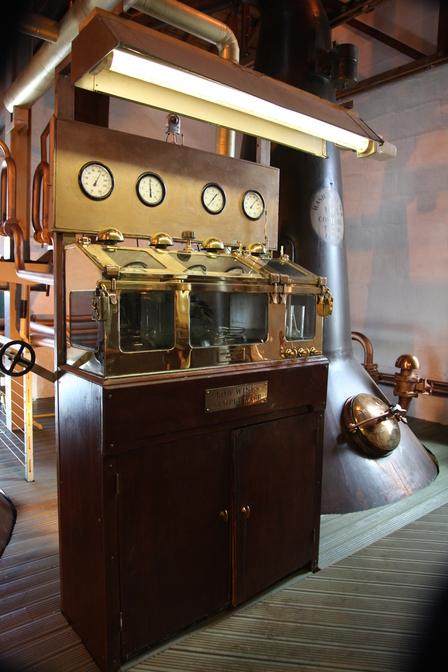 Single Malt Scotch Whisky Production 7. - Distillation image 8