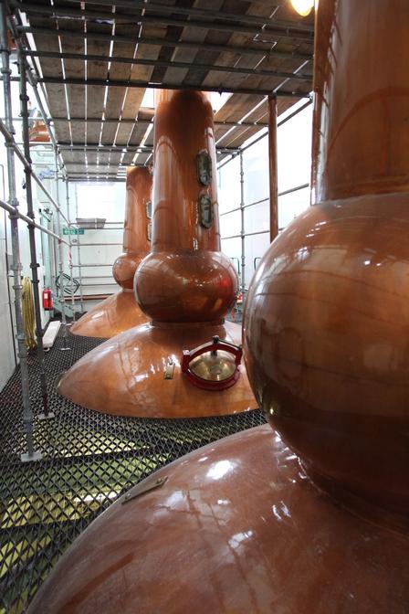 Single Malt Scotch Whisky Production 7. - Distillation image 4